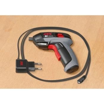 Surubelnita electrica cu acumulator 4 V Max Skil 2636 AA, tensiune 3.6 V, 200 RPM #4