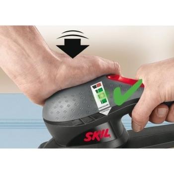 Aparat de slefuit cu vibratii Skil 7366 AA, putere 240 W, tensiune 220 - 240 V, suprafata de slefuire 92 x 185 mm #2