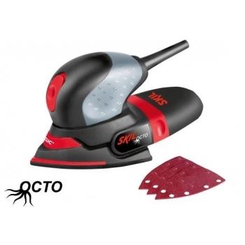 Aparat de slefuit cu vibratii Skil 7207 AA, putere 100 W, tensiune 220 - 240 V, suprafata de slefuire 151 x 102 mm