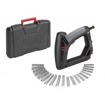 Capsator electric Skil 8200 AC, 20 de percutii p.m., latime capsa 11.4 mm, lungime cui 15-16 mm, capacitate de incarcare 80 cuie, tensiune 220 - 240 V