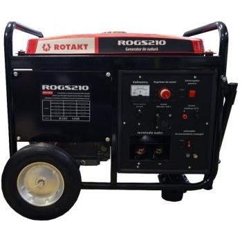Generator pentru sudura Rotakt ROGS210, monofazic, 4.5 kW, putere motor 14 Cp, tensiune 230 V, pornire manuala #3
