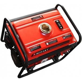 Generator de curent Rotakt ROGE1500, monofazic, putere 1.0 kW, benzina, putere motor 3.5 Cp, tensiune 230 V, pornire manuala, AVR inclus #3