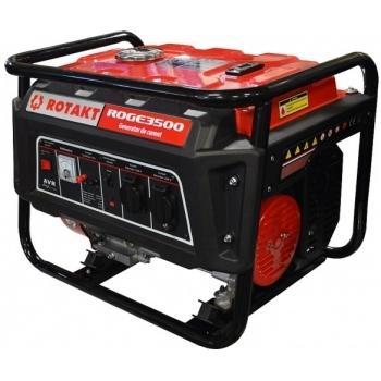 Generator de curent Rotakt ROGE3500, monofazic, 2.8 kW, benzina, putere motor 7 Cp, tensiune 230 V, pornire manuala, AVR inclus #2