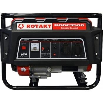 Generator de curent Rotakt ROGE3500, monofazic, 2.8 kW, benzina, putere motor 7 Cp, tensiune 230 V, pornire manuala, AVR inclus #3