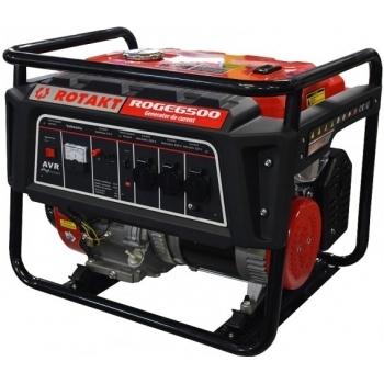 Generator de curent Rotakt ROGE6500, monofazic, 5.5 kW, benzina, putere motor 13 Cp, tensiune 230 V, pornire manuala, AVR inclus #3