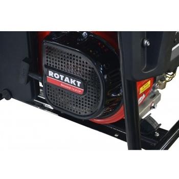 Generator de curent Rotakt ROGE6500, monofazic, 5.5 kW, benzina, putere motor 13 Cp, tensiune 230 V, pornire manuala, AVR inclus #4