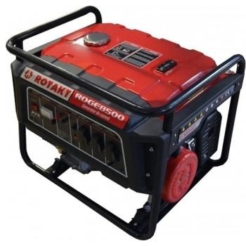 Generator de curent Rotakt ROGE8500, monofazic, 7.8 kW, benzina, putere motor 15 Cp, tensiune 230 V, pornire manuala, AVR inclus #2