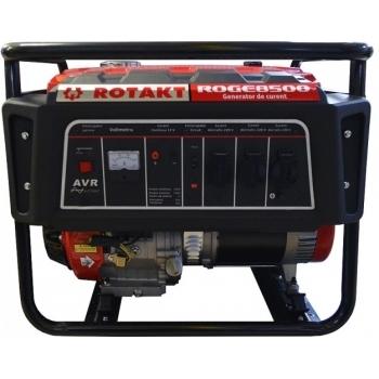 Generator de curent Rotakt ROGE8500, monofazic, 7.8 kW, benzina, putere motor 15 Cp, tensiune 230 V, pornire manuala, AVR inclus #4
