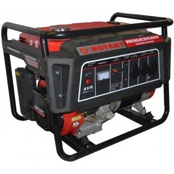 Generator de curent Rotakt ROGE8500, monofazic, 7.8 kW, benzina, putere motor 15 Cp, tensiune 230 V, pornire manuala, AVR inclus