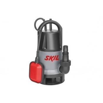 Pompa submersibila Skil 0810 AA, apa murdara, debit maxim 8500 l/h, inaltime 5 m, adancime 7 m