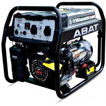 Generator de curent ABAT 7500A, monofazic, 6.5 kW, benzina, putere motor 9 Cp, tensiune 110/240 V, pornire electrica, AVR, panou de automatizare