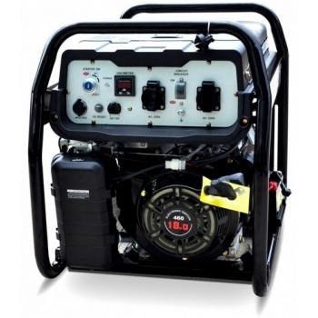 Generator de curent ABAT 10000A, monofazic, 8 kW, benzina, putere motor 11 Cp, tensiune 110/240 V, pornire electrica, AVR, panou de automatizare #2