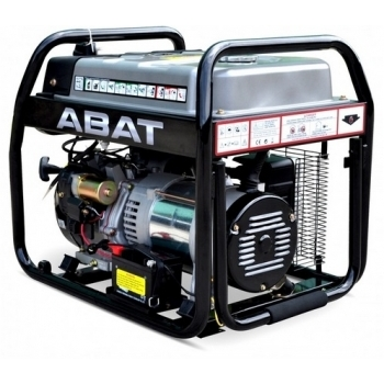Generator de curent ABAT 10000A, monofazic, 8 kW, benzina, putere motor 11 Cp, tensiune 110/240 V, pornire electrica, AVR, panou de automatizare