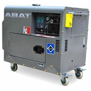 Generator de curent ABAT 7500A, monofazic, 6 kW, benzina, putere motor 8 Cp, tensiune 110/240 V, pornire electrica, AVR, panou de automatizare