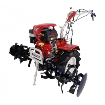 Motosapa O-mac LONCIN LC1350, benzina, putere motor 13 Cp, latime de lucru 60 cm, pornire manuala, 3 viteze inainte + 1 inapoi, minidiferential, roti 6.5 - 12, far led
