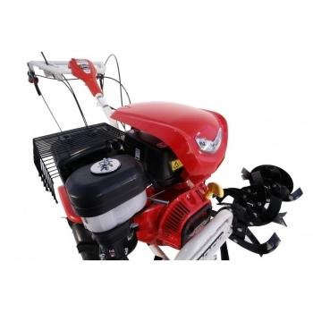 Motosapa O-mac LONCIN LC1350, benzina, putere motor 13 Cp, latime de lucru 60 cm, pornire manuala, 3 viteze inainte + 1 inapoi, minidiferential, roti 6.5 - 12, far led #4