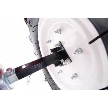 Motosapa O-mac LONCIN LC1350, benzina, putere motor 13 Cp, latime de lucru 60 cm, pornire manuala, 3 viteze inainte + 1 inapoi, minidiferential, roti 6.5 - 12, far led #10