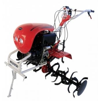 Motocultor O-mac LONCIN LC1440, diesel, putere motor 9,5 Cp, latime de lucru 60 cm, pornire manuala, 2 viteze inainte + 1 inapoi, roti 5.00 - 12