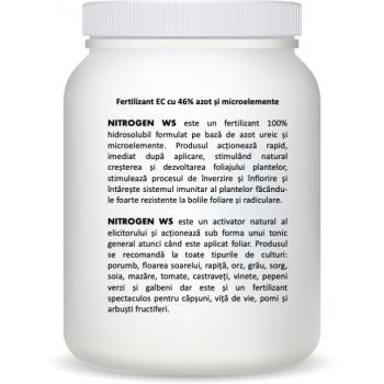 Ingrasamant special hidrosolubil pe baza de azot ureic, Nitrogen WS, 1 Kg, SemPlus #2