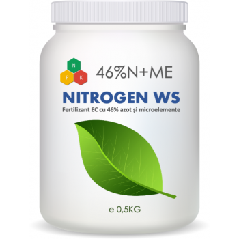 Ingrasamant special hidrosolubil pe baza de azot ureic, Nitrogen WS, 1 Kg, SemPlus